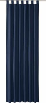 Tom Tailor Vorhang T-Dove mit Schlaufen 250x140cm dunkelblau