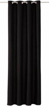 Tom Tailor Vorhang T-Dove mit Ösen 250x140cm schwarz
