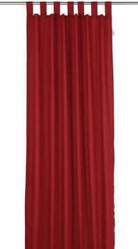 Tom Tailor Vorhang T-Dove mit Schlaufen 250x140cm rot