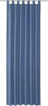 Tom Tailor Vorhang T-Dove mit Schlaufen 250x140cm taubengrau