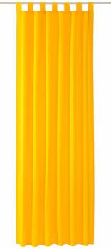 Tom Tailor Vorhang T-Dove mit Schlaufen 250x140cm sonnengelb