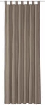 Tom Tailor Vorhang T-Dove mit Schlaufen 250x140cm grau