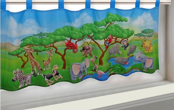 Ernst Schäfer Zootiere 45x120cm