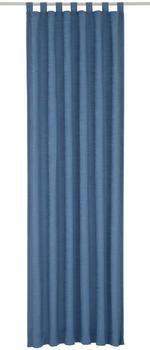 Wirth Vorhang Toco-Uni blau (200x132cm)