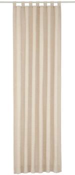 Wirth Vorhang Toco-Uni beige (245x132cm)
