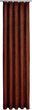 Wirth Trondheim Kräuselband 174x225cm schoko