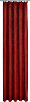 Wirth Trondheim Kräuselband 174x225cm rubin