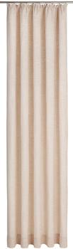 Wirth Trondheim Kräuselband 174x225cm beige