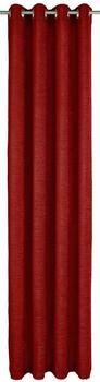 Wirth Trondheim Ösenschal 174x225cm rubin