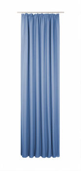 Wirth Sunbone mit Kräuselband 132x145cm blau