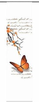 Home Fashion Butterflies 60x245cm orange
