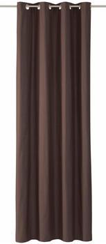 Tom Tailor Dove mit Ösen 245x140cm dunkelgrau