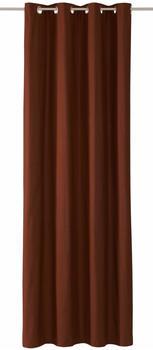 Tom Tailor Dove mit Ösen 245x140cm dunkelbraun
