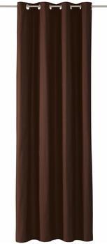 Tom Tailor Dove mit Ösen 245x140cm schoko