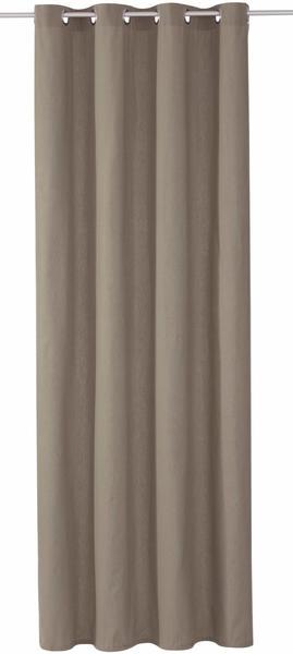 Tom Tailor Dove mit Ösen 245x140cm grau