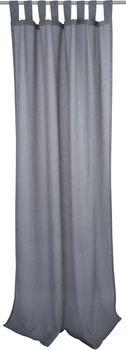 Tom Tailor Light Melange mit Schlaufen 140x255cm grau