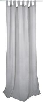 Tom Tailor Light Melange mit Schlaufen 140x255cm hellgrau