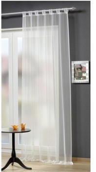Home Fashion Schlaufenschal Voile 140x245 weiß