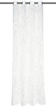 Schöner Wohnen Schöner Wohnen Kollektion Ösenschal Twig 140 x 245 cm weiß