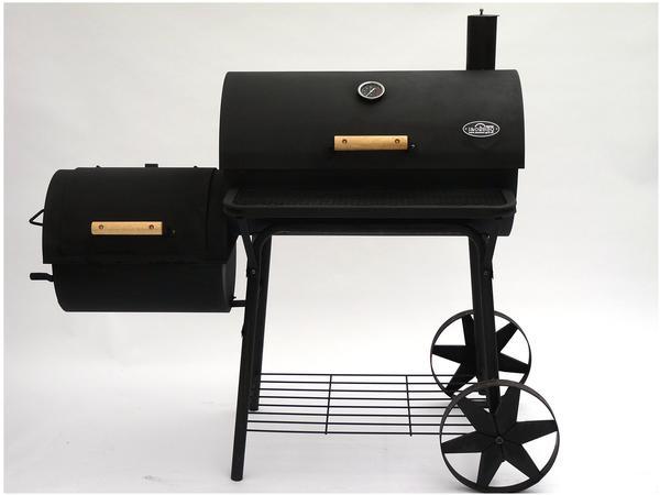 I&O BBQ Germany Holzkohlegrill BBQ Smoker Cajun Pro