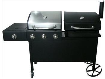 El Fuego Holzkohlegrill Ontario Test : Barbecue smoker tepro toronto einbrennen holzkohlegriller