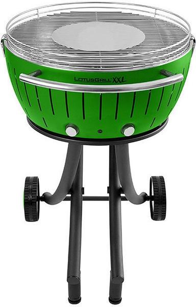 LotusGrill XXL mit Gestell grün