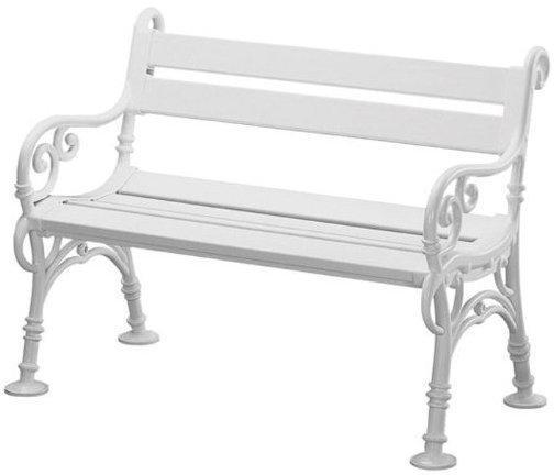 Blome Linderhof 2-Sitzer weiß (Kunststoff)
