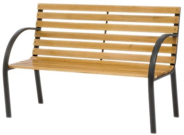 Siena Garden Menorca 2-Sitzer (Metall-Hartholz)