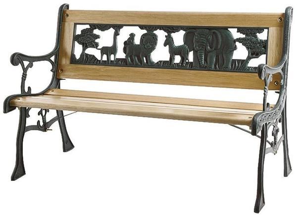 Siena Garden Zoo-Park Kinderbank 2-Sitzer (598843) grün