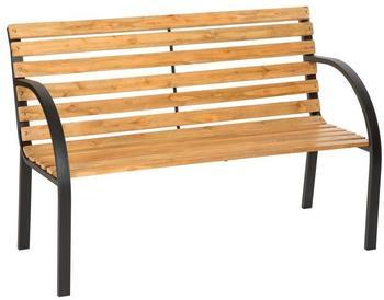 TecTake Gartenbank Eukalyptus Holz 123cm (401425)