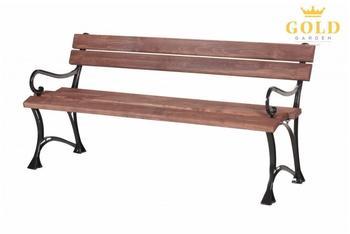 Gold Garden Toskana 3-Sitzer (ohne Armlehnen) (nuss)