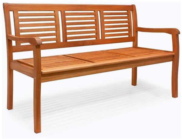 Deuba 3 Sitzer Eukalyptusholz (103978)