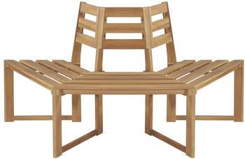 vidaXL Half-hexagonal Outdoor Garden Seat