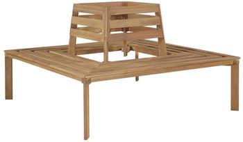 vidaXL Solid Acacia Wood Tree Bench