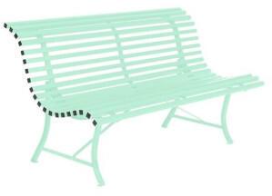 Fermob Louisiane 3-Sitzerbank 150cm Stahl Grün