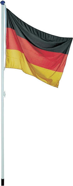 Albatros Alu-Fahnenmast 6,20 m + Deutschlandfahne 150 x 90cm