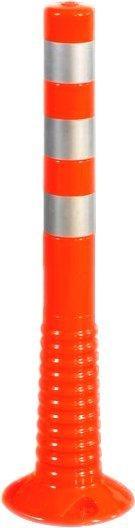 Temka Sperrpfosten PU zum Aufschrauben 80 x 750 mm orange