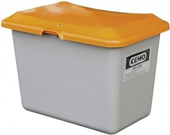 Cemo Plus 3 200 Liter grau orange (ohne Entnahmeöffnung, ohne Staplertasche)