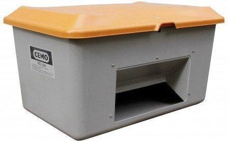 Cemo Plus 3 400 Liter grau orange (mit Entnahmeöffnung, ohne Staplertasche)