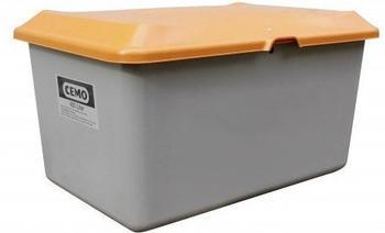 Cemo Plus 3 400 Liter grau orange (ohne Entnahmeöffnung, ohne Staplertasche)