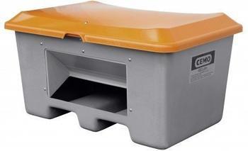 Cemo Plus 3 400 Liter grau orange (mit Entnahmeöffnung, mit Staplertasche)