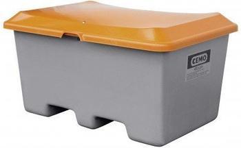 Cemo Plus 3 400 Liter grau orange (ohne Entnahmeöffnung, mit Staplertasche)