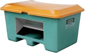 Cemo Plus 3 400 Liter grün orange (mit Entnahmeöffnung, mit Staplertasche)