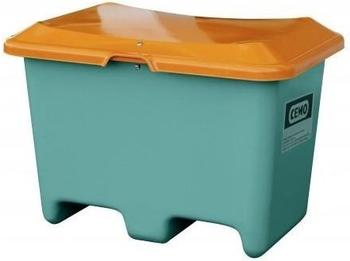 Cemo Plus 3 400 Liter grün orange (ohne Entnahmeöffnung, mit Staplertasche)