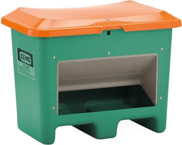 Cemo Plus 3 200 Liter grün orange (mit Entnahmeöffnung, mit Staplertasche)