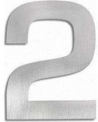 Blomus Signo Hausnummer: 2 (Edelstahl)
