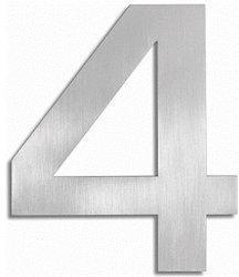 Blomus Signo Hausnummer: 4 (Edelstahl)