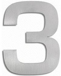 Blomus Signo Hausnummer: 3 (Edelstahl)