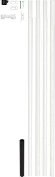 GAH-Alberts Fahnenmast 6,15m x Ø 42mm (639709)