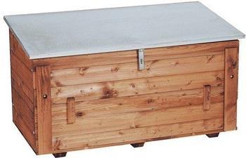 Triuso Streugutbehälter aus Holz 130 x 65 x 70 cm